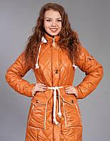 Молодежная курточка  с рельефными швами