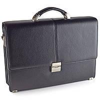 Портфель мужской кожаный черный Eminsa 7074-37-1