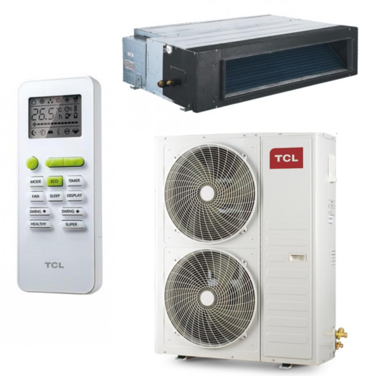 Канальный инверторный кондиционер 60000 BTU до 160м2 TCL TCA-60D2HRA/DV3I/TCA-60HA/DV3O