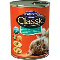 Консервы для кошек Butcher`s Classic Океаническая Рыба кусочки в желе