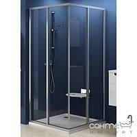 Душевые кабины, двери и шторки для ванн Ravak Дверь для душ. уголка Ravak Supernova SRV2-90 S сатин/прозрачное (стекло) 14V70U02Z1