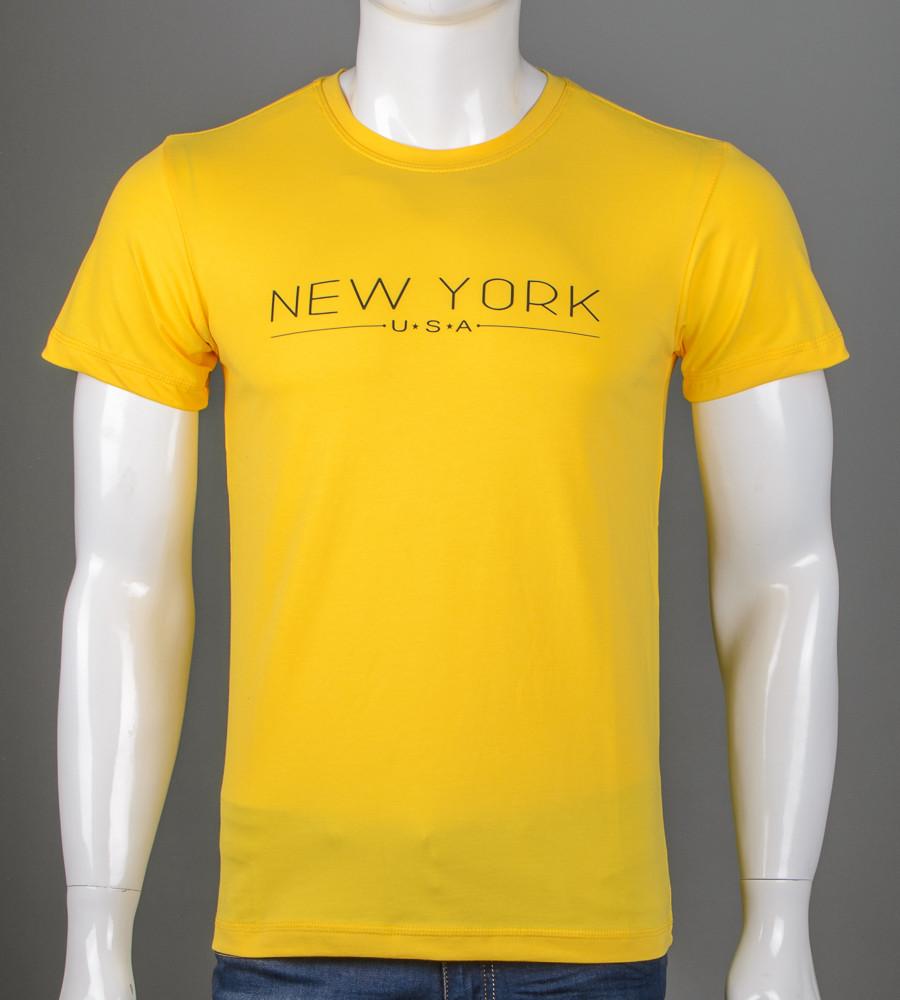 Футболка мужская NewYork (5101м), Желтый