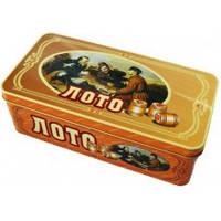 Русское Лото в жестяной коробке T9001