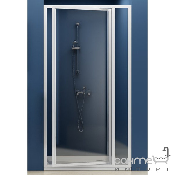 Душевые кабины, двери и шторки для ванн Ravak Душевые двери Ravak Supernova SDOP-70 белый/прозрачное (стекло) 03V10100Z1