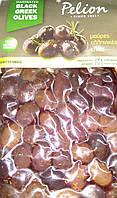 Оливки темні сорти Амфиса у вакуумі 200 гр