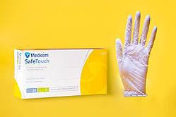 Перчатки Виниловые Без пудры M (7-8)