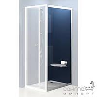 Душевые кабины, двери и шторки для ванн Ravak Душевая стенка Ravak Supernova PSS-75 белый/transparent (стекло) 94030100Z1