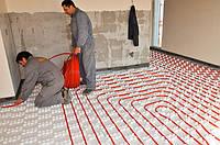 Установка системы теплый пол в Днепропетровске и области