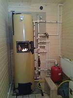 Установка твердотопливного котла в Киеве и области, фото 1