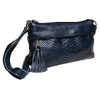 Жіноча шкіряна сумка Keizer K11181-blue