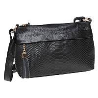 Жіноча шкіряна сумка Keizer K11181-black