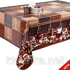 Клеенка Декорама на стол Аромат Кофе