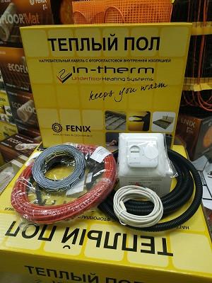 Нагрівальний кабель IN-THERM ECO PDSV довжиною 8м з регулятором