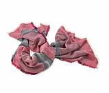Шикарний великий теплий палантин, шарф від тсм Tchibo (Чібо), Німеччина, фото 2