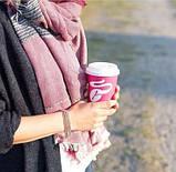 Шикарний великий теплий палантин, шарф від тсм Tchibo (Чібо), Німеччина, фото 4