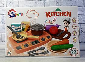 Посуд + Плита В коробці 5620 Технокомп Україна