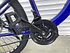 ✅ Горный Стальной Велосипед TopRider 27.5 Дюйм 550 Рама 15 Синий ORIGINAL SHIMANO, фото 4