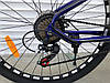 ✅ Горный Стальной Велосипед TopRider 27.5 Дюйм 550 Рама 15 Синий ORIGINAL SHIMANO, фото 5