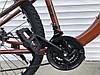 ✅ Гірський Сталевий Велосипед TopRider 27.5 Дюйм 550 Рама 15 Коричневий ORIGINAL SHIMANO, фото 5