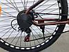 ✅ Гірський Сталевий Велосипед TopRider 27.5 Дюйм 550 Рама 15 Коричневий ORIGINAL SHIMANO, фото 6