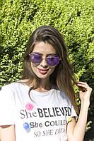Сонцезахисні окуляри жіночі 8307-2, фото 1