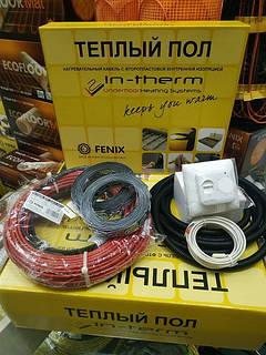 3 м2 Тепла підлога In-Therm ECO нагрівальний двожильний кабель
