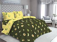 Комплект двуспального постельного белья Ranforce - Авокадо