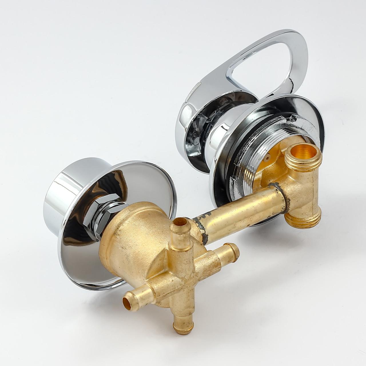 Змішувач для гідробоксу, душової кабіни S4-10 на 4 положення.