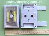 Світлодіодний світильник з диммером (регулюванням світіння) на 3 ААА батарейках, фото 2