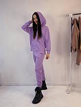 Стильный модный костюм КРАМ. Цвет Лиловый. S, M, L, XL