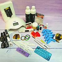 Стартовый набор для маникюра, дизайна ногтей, наращивания ногтей Milano