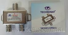 TECHNOSAT SPD12 2-WAY Splitter с приходом питания