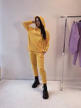 Стильный модный костюм КРАМ. Цвет Желтый. S, M, L, XL
