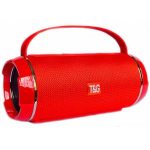 Портативна bluetooth колонка вологостійка T&G 116 Червона