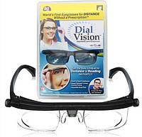 Очки с регулировкой линз Dial Vision Универсальные очки-лупа