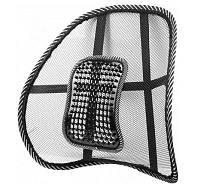 Подставка для спины каркасная черная