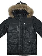 Куртка зимова для хлопчика тканини холлофайбер, фото 1