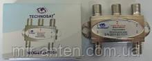 TECHNOSAT SPD14 4-WAY Splitter (5-2300MHz, с проходом питания, с изолированными диодами выходами)