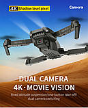 Квадрокоптер E98 – дрон з 4K камерою Black, фото 4