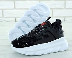 Женские кроссовки версаче Versace, Черные
