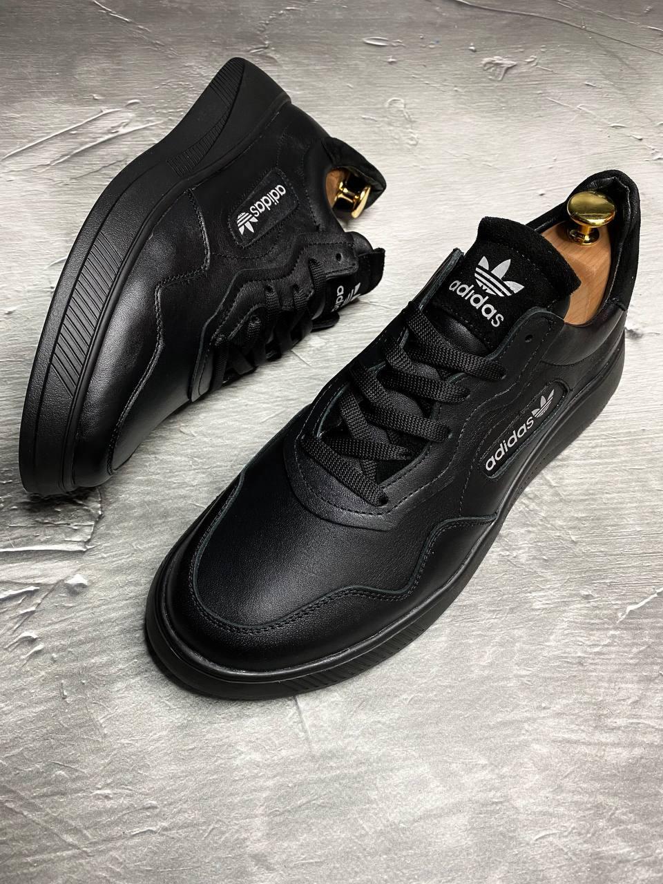 Мужские кожаные кроссовки Adidas
