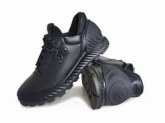 Спортивные ботинки, кроссовки Ecco Exceed стиль casual уникальный дизайн кожа