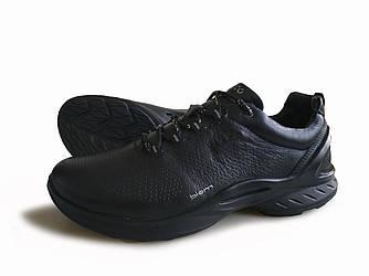 Ecco Biom Juel кроссовки из натуральной кожи черные