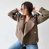 куртка женская из пальтовой ткани купить