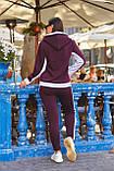 Женский батальный спортивный костюм со полосами на молнии (р. 48-54), фото 8