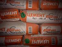 Цемент ПЦ I-500 Н «Евроцемент» заводской 50 кг.