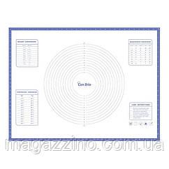 """Силиконовый коврик, """"ConBrio"""", 80 x 60см., индиго"""