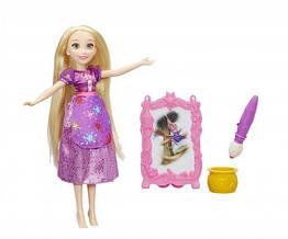 Кукла принцессы Дисней Рапунцель 26 см и ее хобби. Оригинал Hasbro B9148/B9146