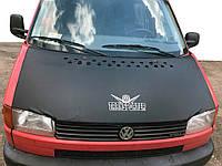 Чехол капота на прямой капот (кожазаменитель) Volkswagen T4 Transporter / Чехлы на капот Фольксваген Т4