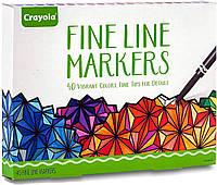 Набор лайнеров Crayola Fine Line Markers 40 штук (58-7715)